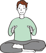 エネルギーの感覚を強くする呼吸法