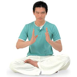簡単にできるエネルギー瞑想法2イラスト
