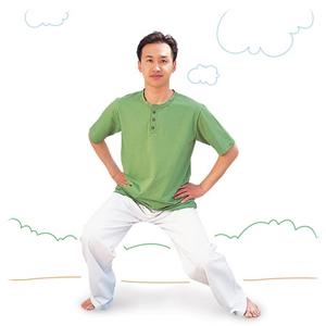 ひざを丈夫にするブレイン体操