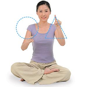 脳を柔軟にするブレイン体操②: 両手でそれぞれ違う図形を描く