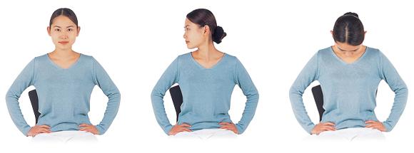 ブレイン体操-首の運動A