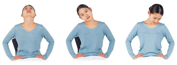 ブレイン体操-首の運動B