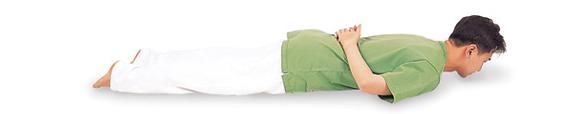 脊椎の筋力を強化するブレイン体操1