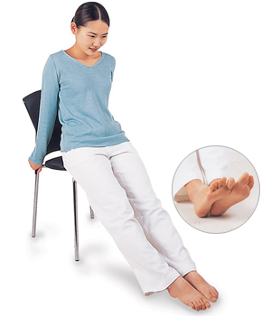 イルチブレインヨガ-足のむくみをとるブレイン体操