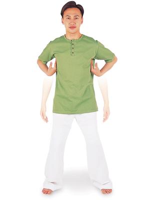腕を振るブレイン体操で慢性疲労を解決