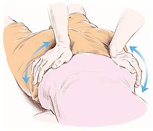 疲労回復に効く腰のマッサージ