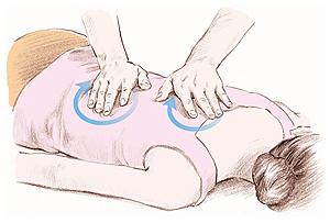 疲労回復のためのイルチブレインヨガのマッサージ