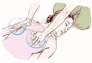 イルチブレインヨガの肩甲骨をほぐすファルゴン