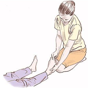 足のファルゴン
