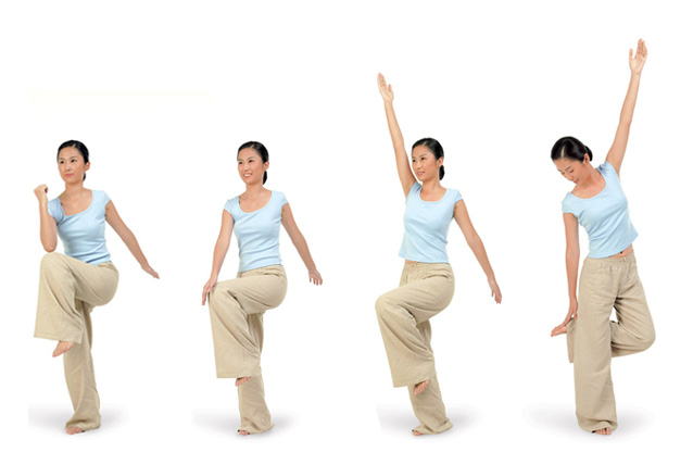 創造力を高める手足のクロス体操