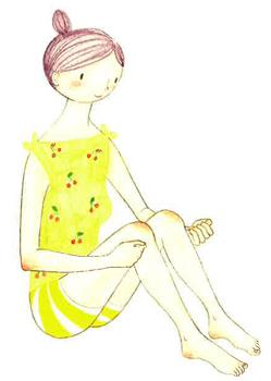 胃を健康的な状態へと導くイルチブレインヨガ「ひざ下叩き」