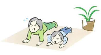 イルチブレインヨガのプッシュアップ<21日目>