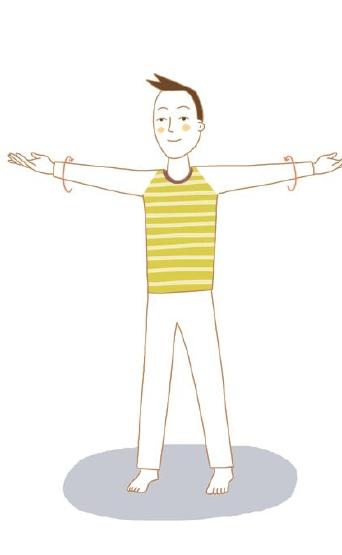 イルチブレインヨガの「腕ひねり体操」