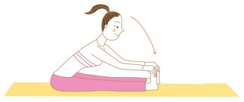 イルチブレインヨガの前屈体操