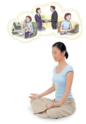 イルチブレインヨガの「イメージ瞑想」