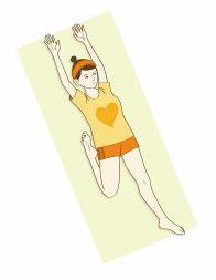 イルチブレインヨガの「太ももストレッチ」で元気なひざをキープ
