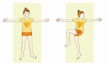 腰痛をやわらげるイルチブレインヨガの「腰椎ストレッチ」