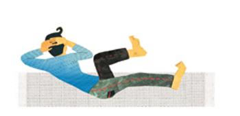 イルチブレインヨガの「バイシクル体操」でダイエット