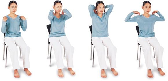 イルチブレインヨガの「肩回し体操」で、オフィスでも簡単に肩こり改善